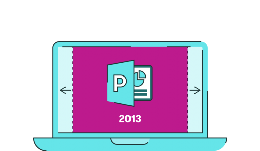 powerpoint 2013 widescreen by default
