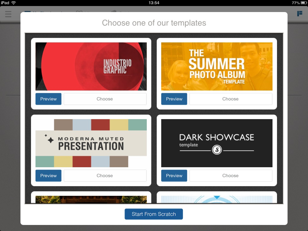 flowboard create publish interactive presentations from the ipad