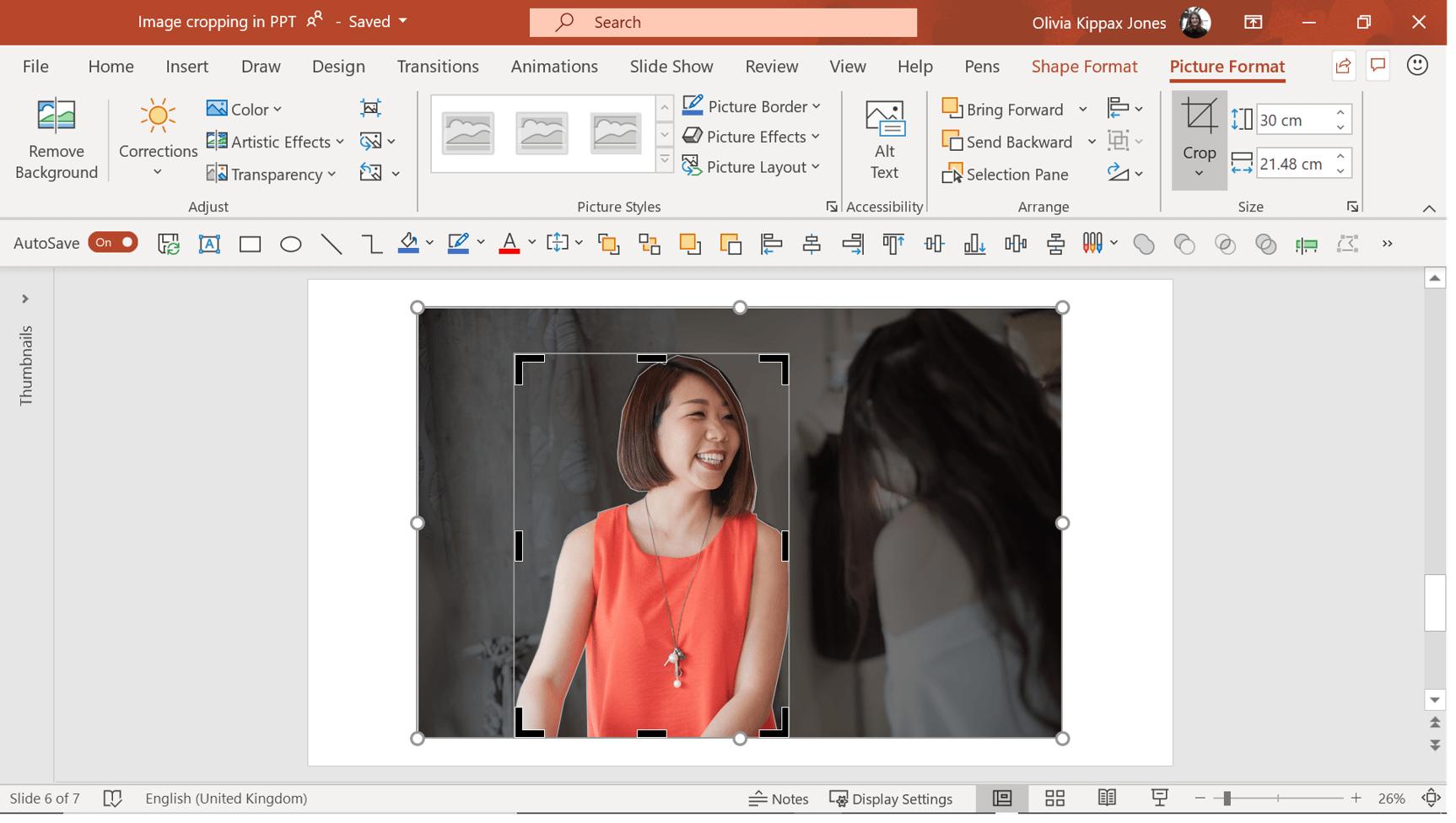 free form image crop  Custom image cropping in PowerPoint | BrightCarbon