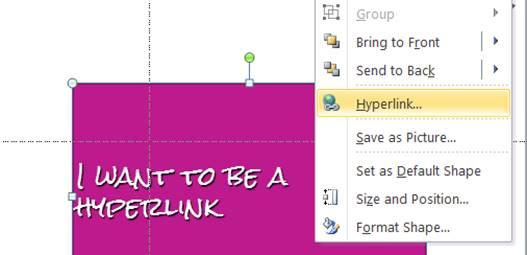interactive powerpoint slides hyperlinking