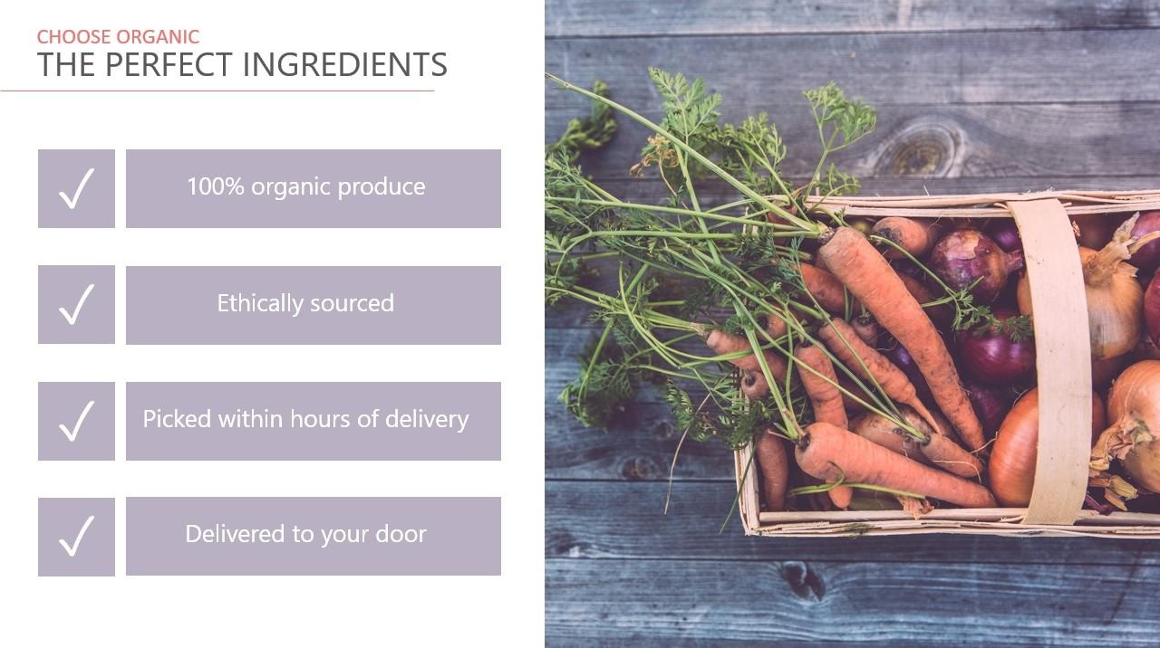 vegetable box