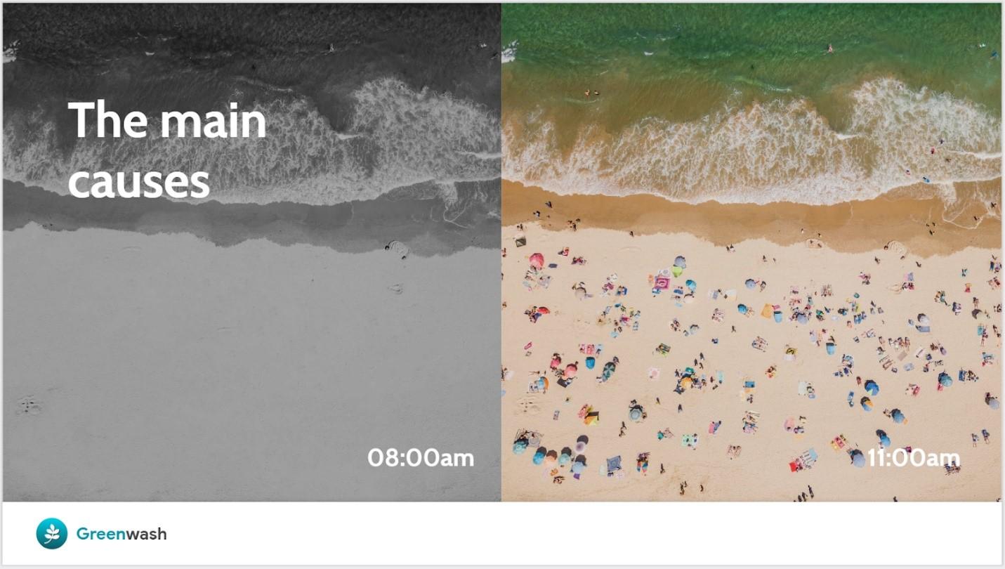 Google Slides image editing