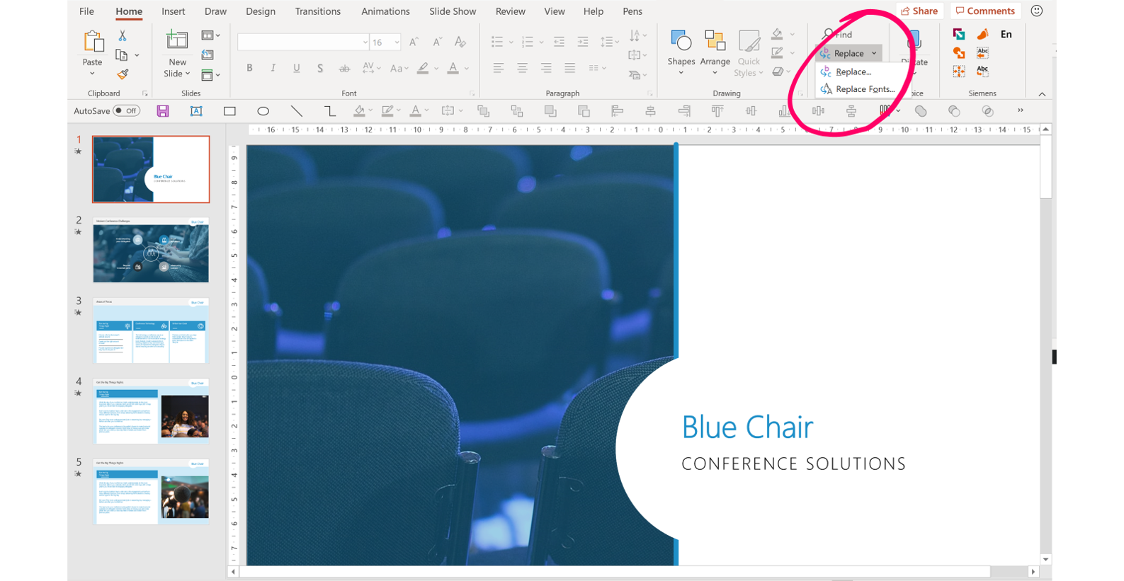 Replace fonts workaround: Locating pesky PowerPoint fonts