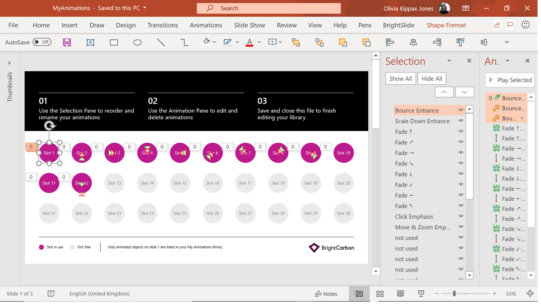PowerPoint productivity BrightSlide