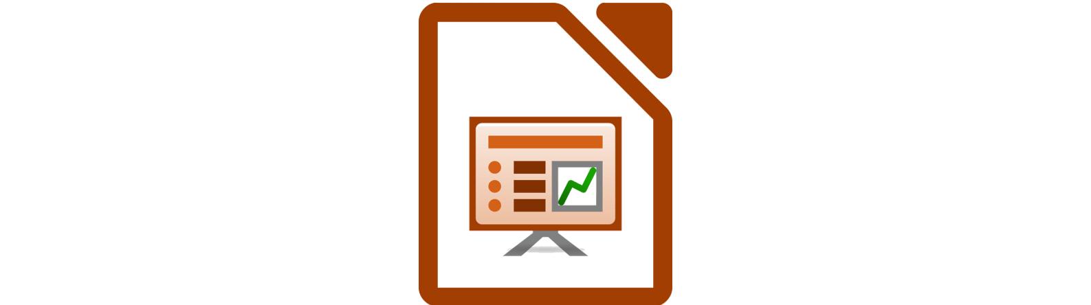Logo for Libre Office Impress