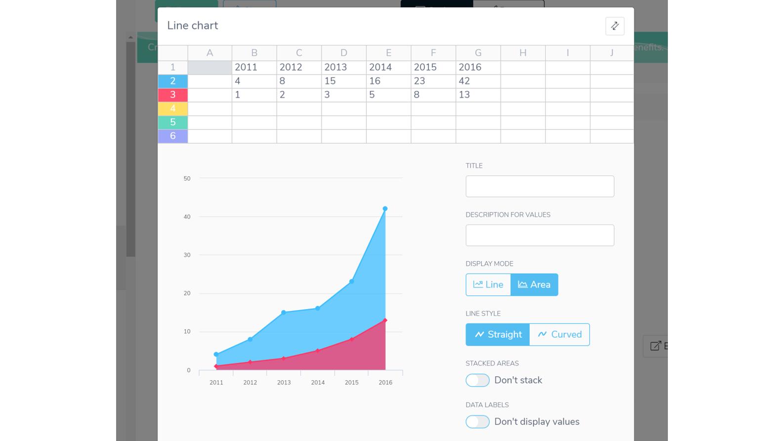 PowerPoint alternative Slidebean screenshot
