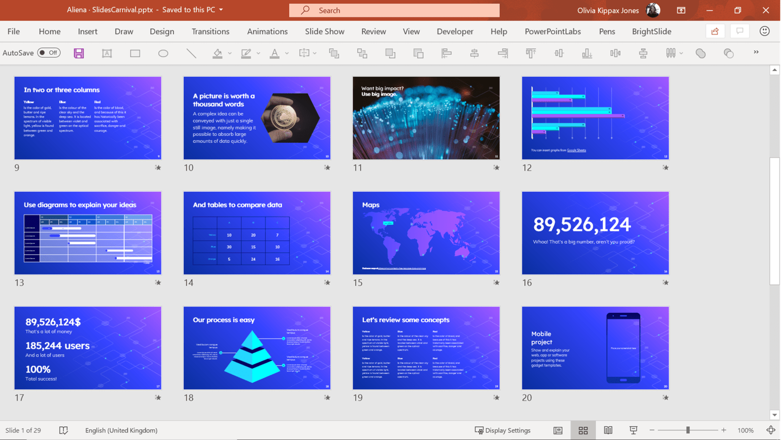 The Best Free Powerpoint Templates Online Brightcarbon
