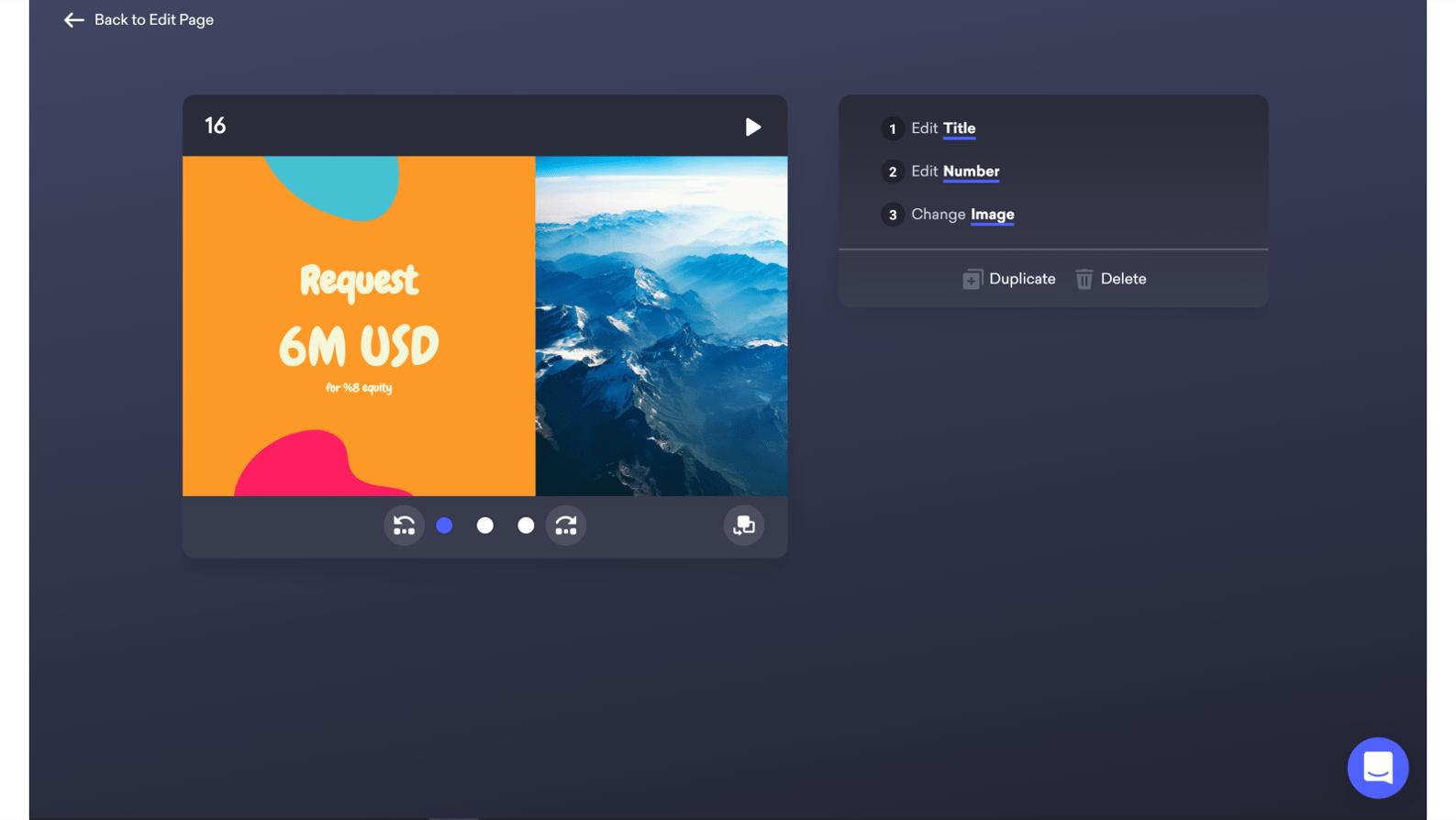 screenshot of the Focus Mode in decktopus
