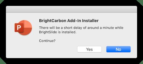 BrightSlide install question