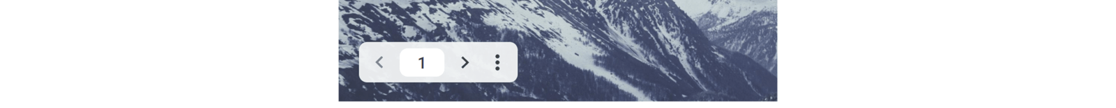 Screenshot of present mode toolbar in Google Slides